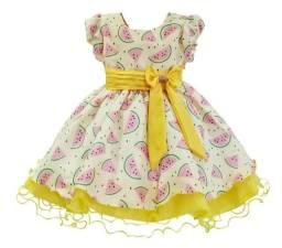 Vestido Amarelo Melancia Magali Tam 3