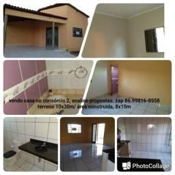 Vendo casa em Bom Jesus