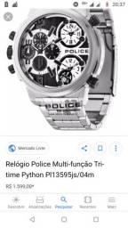 702f9cc8305 Relógio de POLICE AÇO INOX