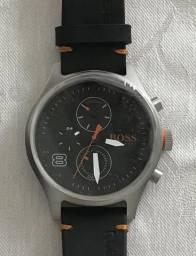 6e01afd0c06 Relógio original novo Hugo Boss - couro