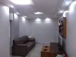 Apartamento com 2 dormitórios à venda, 75 m²  - Aparecida - Santos/SP