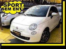 Fiat 500 Sport! Finan Sem Ent. nao ka c3 onix 208 kwid up hb20 cooper mobi uno gol fox - 2010
