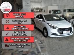 Hyundai HB20S Premium - GNV 5ª Geração (IPVA 20 Grátis) - 2014