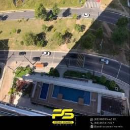 Apartamento com 2 dormitórios à venda, 60 m² por R$ 370.000 - Aeroclube - João Pessoa/PB