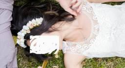 Lindo vestido para pré wedding/ casamento civil