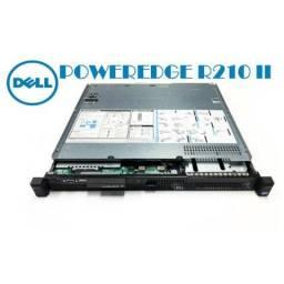 Servidor Compacto Dell Power Edge R210 II - 500 Gb / 4 Gb R A M - R$ 1.750,00