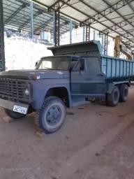 Caminhão tipo Exército 6x6 Basculante - Ford Verde 1977- Revisado - #5205