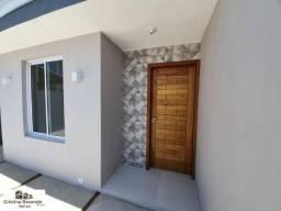 Casa nova c/ 2 dormitórios/aceita financiamento bancário/M. Algodão/espaço p/ piscina