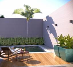 Jardim dos Cristhais com piscina