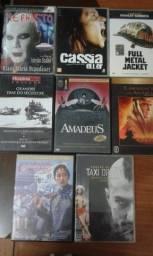 Lote c/ 8 dvd's de Filmes Originais