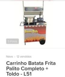 Carrinho de Batatinha frita