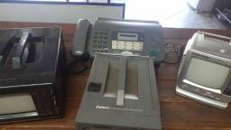Vendo  mini TVs  relíquias  e fax
