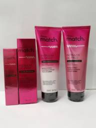 Linha Match completa para os cabelos