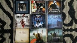 CDs e DVDs de ROCK / HEAVY METAL (LEIA A DESCRIÇÃO)