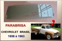 Vidro Parabrisa Chevrolet Brasil 58 À 63 Verde