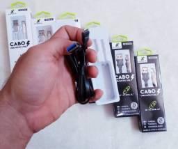 Cabo Alta Qualidade Micro USB Turbo V8 1,20 Metro 3.0A X-cell