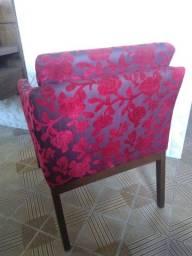 Cadeiras de apoio para sala de estar (2)