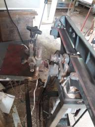 Desempenadeira acerbi 80 x 15 com furadeira horizontal
