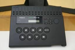 Pads e Modulo Bateria Eletronica Roland Pm-16 Vintage 1987