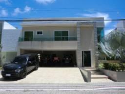 Casa luxuosa com 4 quartos, equipamentos de lazer, garagem p/ lancha em Maria Farinha