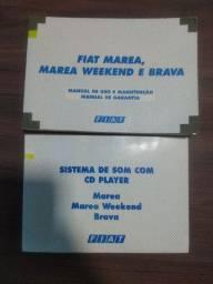 Manual do Proprietário Fiat Marea Weekend  e Brava ano 2001/2002