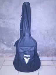 Vendo violão elétrico com capa