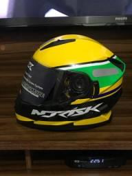 Capacete Norisk Soul Champion Ayrton Senna 60 Novo