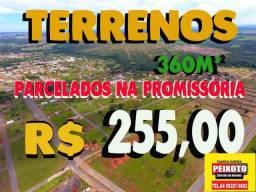 TERRENO EM CALDAS NOVAS //// 255,56 COM OS MELHORES PREÇOS