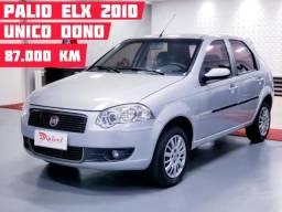 """Palio Elx 1.0 2010 """"Único Dono"""" com apenas 87.000 Km"""