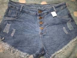 3 shorts jeans novos