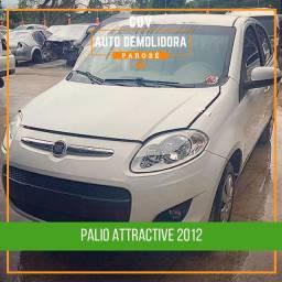 Título do anúncio: Sucata Palio Attractive 1.0 2012 para venda de peças!