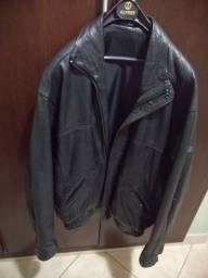 Jaqueta de couro legítimo G/GG