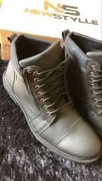 Bota Coturno Sapato