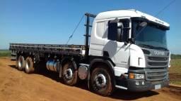 Scania p310 8x2 carroceria fs caminhoes