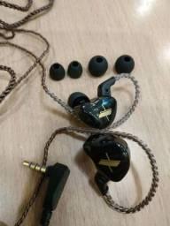 Fone In Ear Kz Edx 1dd Alta Fidelidade.