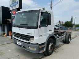 Mercedes Benz MB Atego 1718 toco 2011 mecânica operacional<br><br><br>