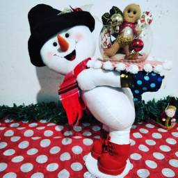 Boneco de Neve centro de mesa