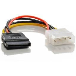 Cabo Para Alimentação Plus Cable Pc-Stf015, Sata, 15 Cm