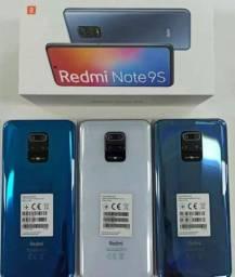 Xiaomi Note 9s 128gb Lacrado! No cartão em 10x SEM JUROS