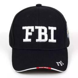 Boné FBI polícia federal americana