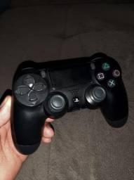 Controle Joystick Sem Fio Sony Dualshock 4 Jet Black (usado)