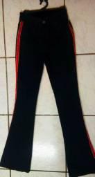 Calça jeans flare Tam 36