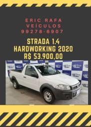 STRADA 1.4 2020 1 mil reais de entrada Rafa Veiculos vgh