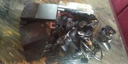 PlayStation 2 controles e card todos os cabos de jogos para vender zap 9 9146 -7758
