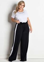 Calça pantalona bluestell Plus size