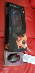 Vendo combo battlefire com teclado +mouse gamer ainda na garantia.
