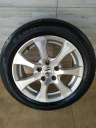 Título do anúncio: Vendo Rodas aro 16 Honda Civic