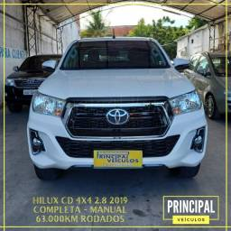 Toyota Hilux CD 4x4 2.8 2019 - Completo / Manual