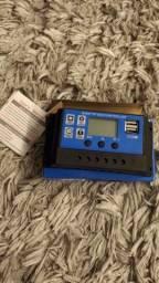 Título do anúncio: Controlador De Carga Solar 100a,12/24v Automático, Pwm