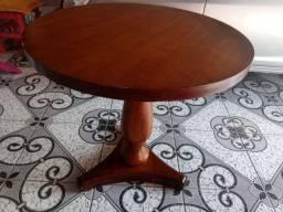 Título do anúncio: Mesa de madeira redonda 90mtrs